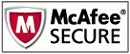 website security seal by McAfee
